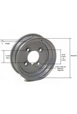 Trailer Wheel 10 inch Rim Steel 6.00J x 100mm PCD x 4 Holes | Fieldfare Trailer Centre