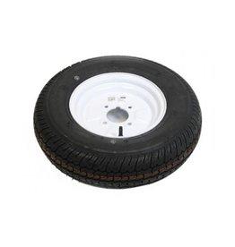 "Maypole 145B10 Trailer Wheel & Tyre 4 PLY in White 4 Stud 4"" pcd"