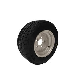195/55R 10C 96N 5 Stud 112mm PCD Silver Trailer Wheel and Tyre
