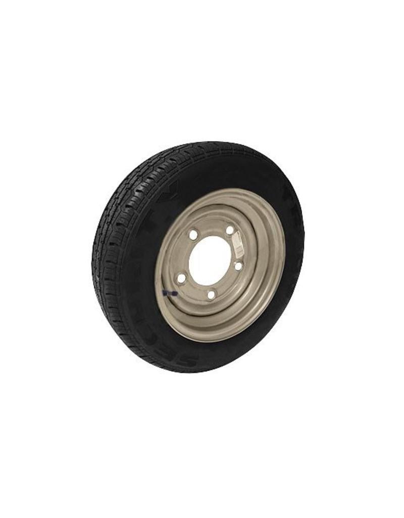 155/70R12C 104N/102N 5 STUD 6.5 PCD Silver Trailer Wheel and Tyre | Fieldfare Trailer Centre