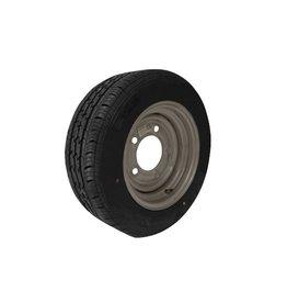 185/60R12C 104N/101N 5 STUD 6.5 PCD Silver Trailer Wheel AND Tyre