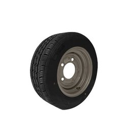 WSL 185/60R12C 104N/101N 5 STUD 6.5 PCD Silver Trailer Wheel AND Tyre