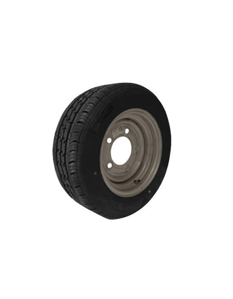 185/60R12C 104N/101N 5 STUD 6.5 PCD Silver Trailer Wheel and Tyre | Fieldfare Trailer Centre