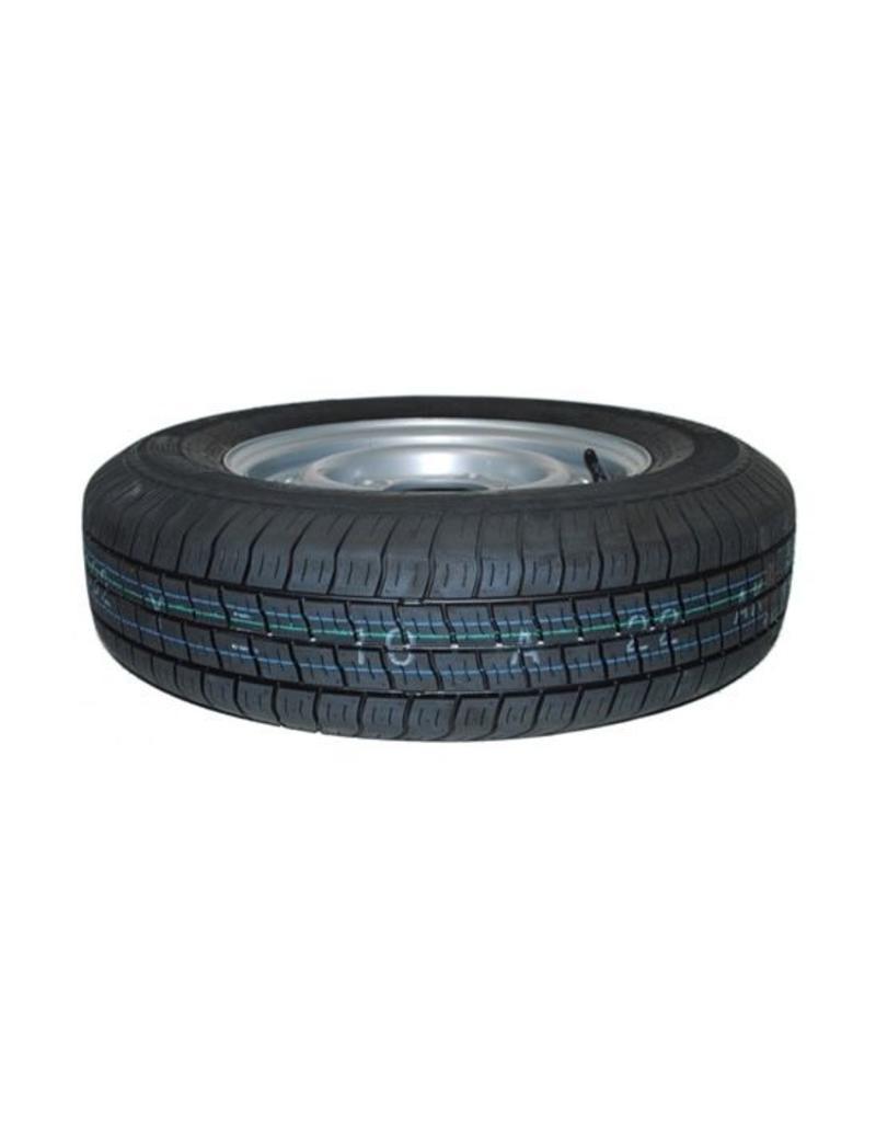 165R 13C Trailer Wheel and Tyre 74N 4 STUD 5.5 inch pcd  | Fieldfare Trailer Centre