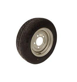 Maypole 185/70R13C 106N/104N 5 STUD 6.5 PCD Silver Trailer Wheel & Tyre