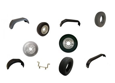 Mudguards, Rims, Tyres, Wheels