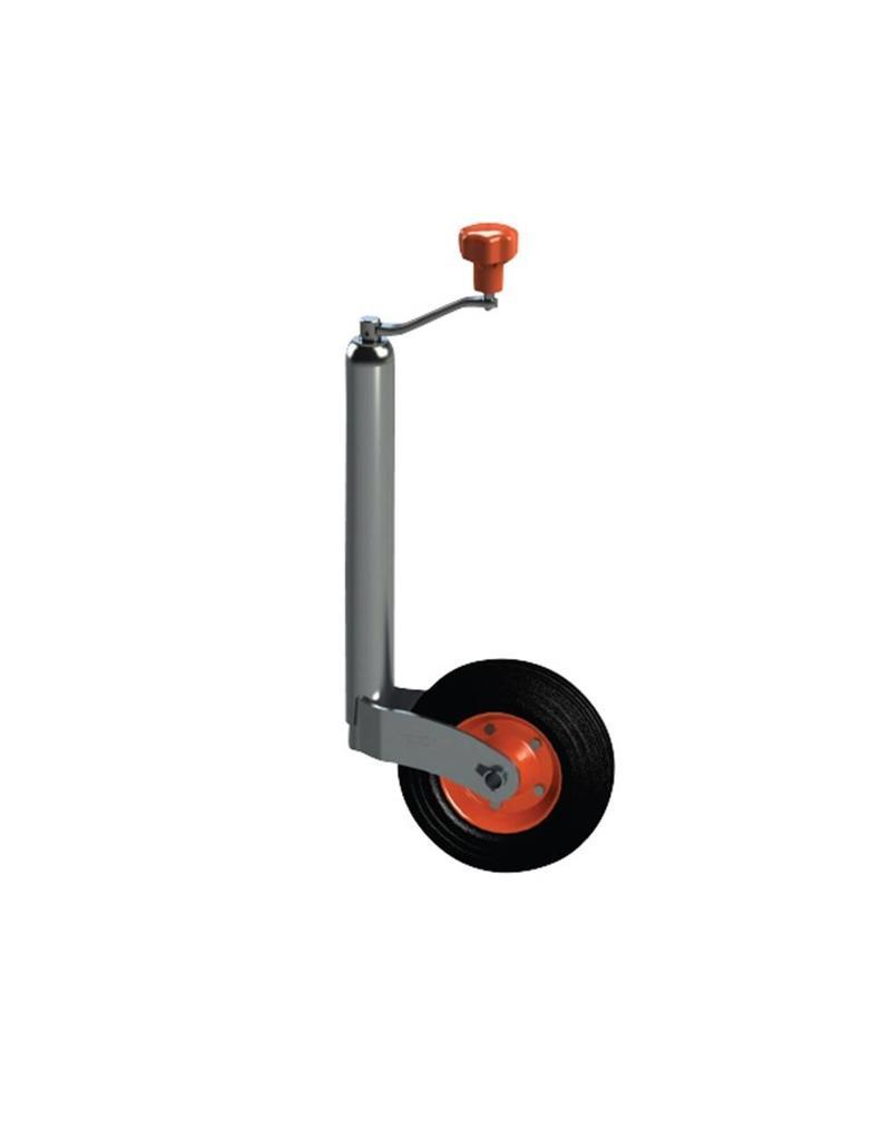 Kartt 43mm Kartt Orange Jockey Metal Rim Solid Wheel HD Smooth | Fieldfare Trailer Centre