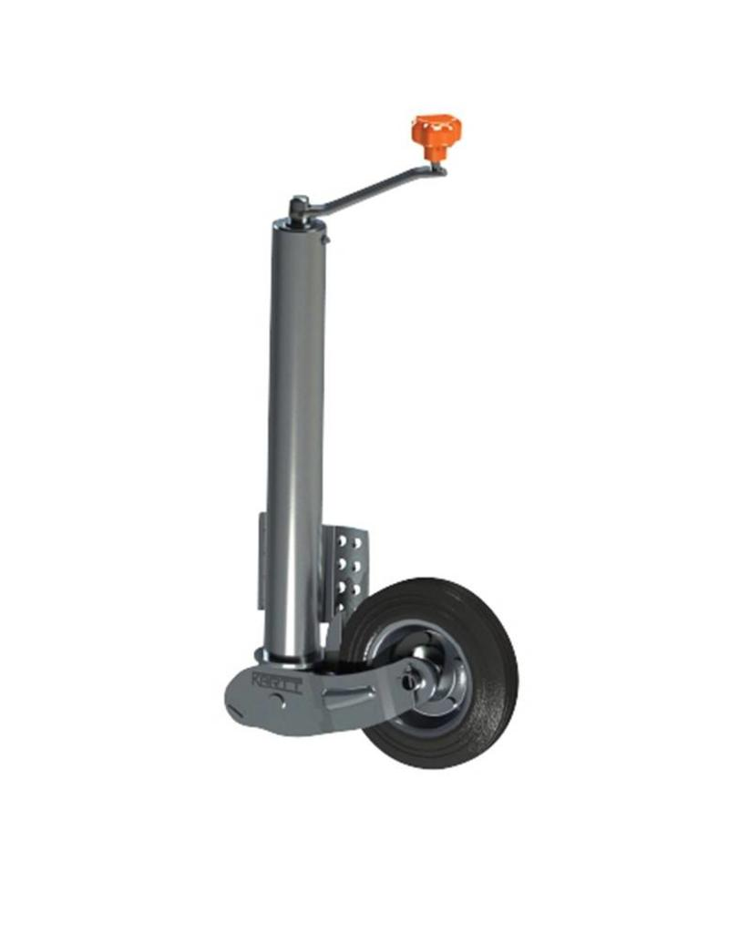 Kartt 60mm Kartt Orange Jockey Metal Rim Solid Wheel Auto Lift | Fieldfare Trailer Centre