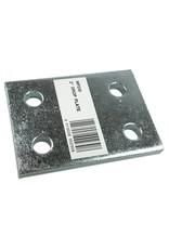 Zinc Plated 2 Inch Drop Plate | Fieldfare Trailer Centre