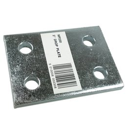 Zinc Plated 2 Inch Drop Plate