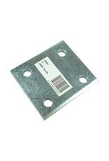 Zinc Plated 3 Inch Drop Plate | Fieldfare Trailer Centre