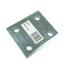 Zinc Plated 3 Inch Drop Plate