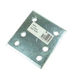 Zinc Plated 4 Inch Drop Plate