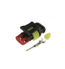 2 Way Male Plug Pack of 10