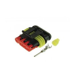 4 Way Male Plug Pack of 10