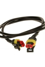 6m Light Link Harness 2 x Superseal Plugs   Fieldfare Trailer Centre