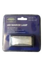 Gwaza Trailer Lamp Marker LED White 12/24V | Fieldfare Trailer Centre
