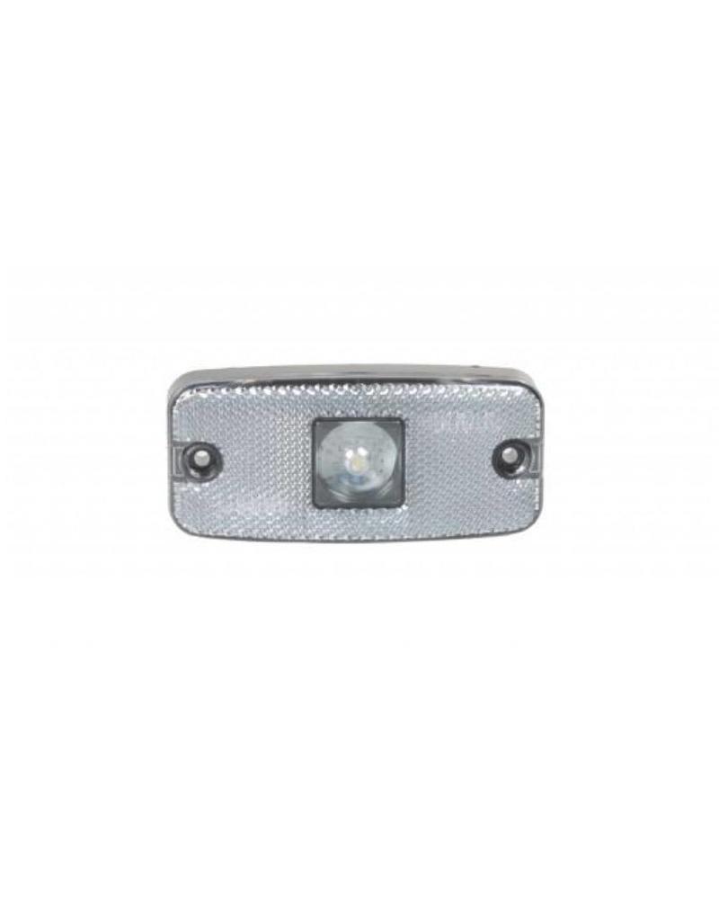 Trailer 10-30V Clear LED Front Marker Lamp and Reflector | Fieldfare Trailer Centre