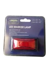 GWAZA LED Trailer Red Marker Lamp   Fieldfare Trailer Centre