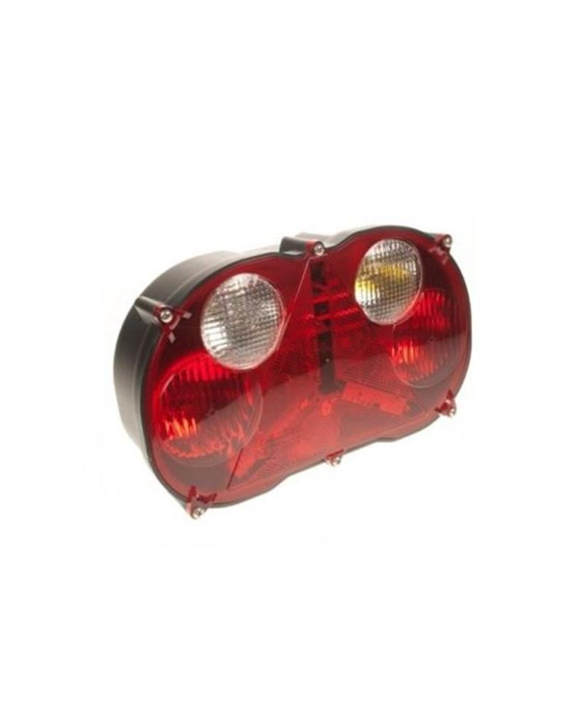 Trailer RADEX Left-hand Horizontal Combi 6 Pin Lamp 8500/2 | Fieldfare Trailer Centre