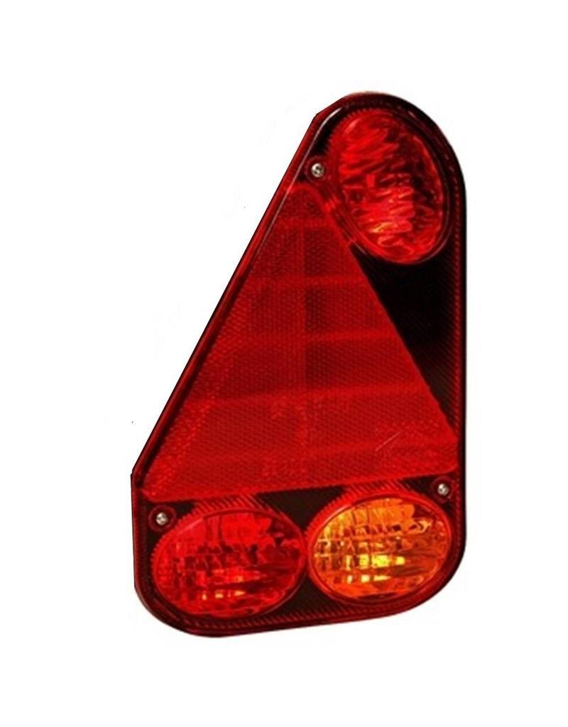 Aspock Ear point 3 Left Side Trailer Light Lens | Fieldfare Trailer Centre