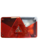 Aspock Multipoint 5 Right Hand Side Trailer Light Lens | Fieldfare Trailer Centre