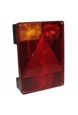 RADEX 6800 5 Function Vertical Left Side Trailer Lamp | Fieldfare Trailer Centre