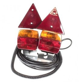 Maypole Trailer Pod Lighting Modules and Triangle 10M Cable