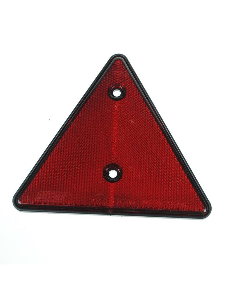 Red Triangle Reflector Lens | Fieldfare Trailer Centre