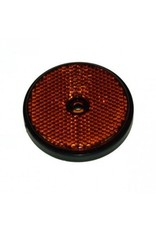 RADEX Round Amber Trailer Reflector 60mm Diameter | Fieldfare Trailer Centre