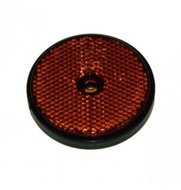 Maypole RADEX Round Amber Trailer Reflector 60mm Diameter