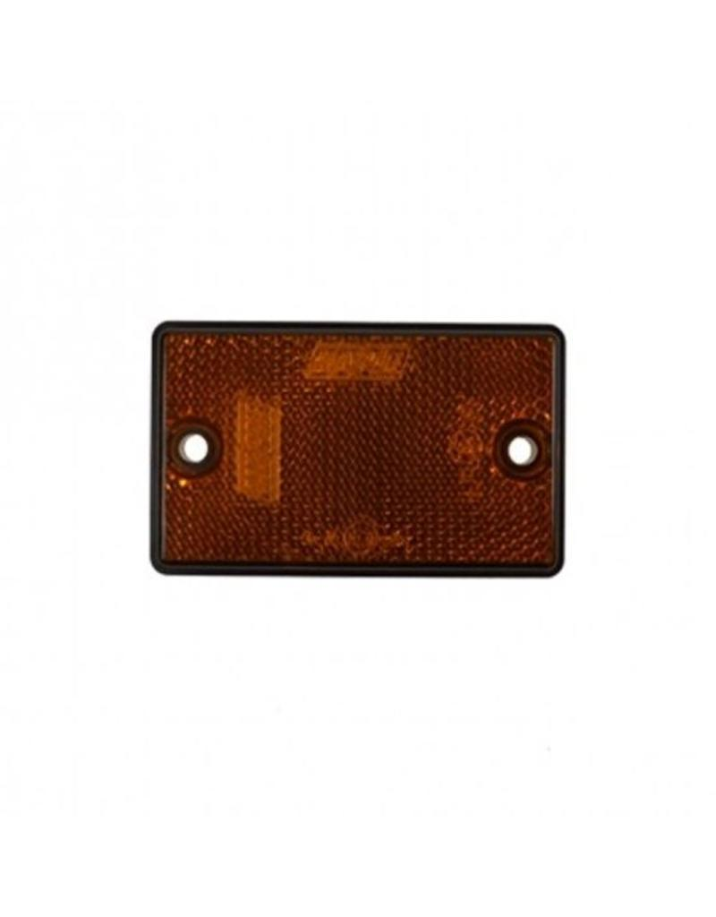 Side Amber Reflector 75 x 46mm | Fieldfare Trailer Centre