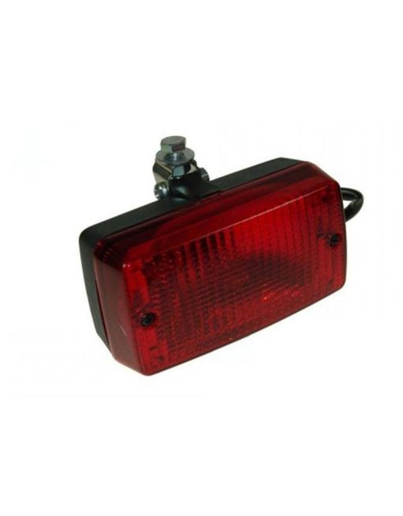 Rectangular Fog Lamp 12V With Mounting Bracket | Fieldfare Trailer Centre