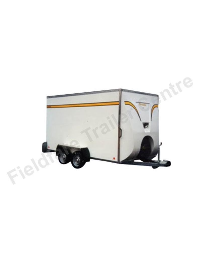 Batesons Bateson 470V Twin Axle 3.6m x 1.8m Box Van Trailer   Fieldfare Trailer Centre