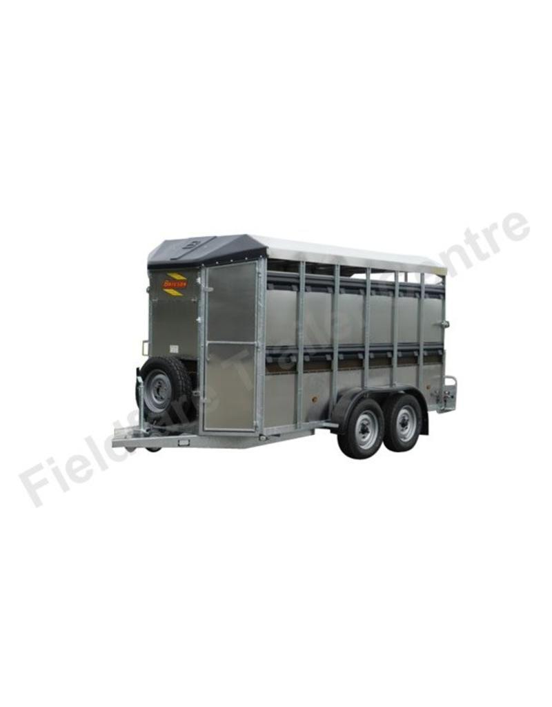 Batesons Batesons 326 Eurostock Double Axle Livestock Trailer| Fieldfare Trailer Centre