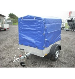 Anssems Anssems GT500-151-101 Trailer with High Cover & Frame