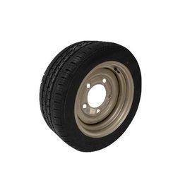 195/50R13C 104N/101N 5 STUD 6.5 PCD Silver Trailer Wheel & Tyre
