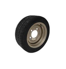 195/50R13C 104N/101N 5 STUD 6.5 PCD Silver Trailer Wheel AND Tyre
