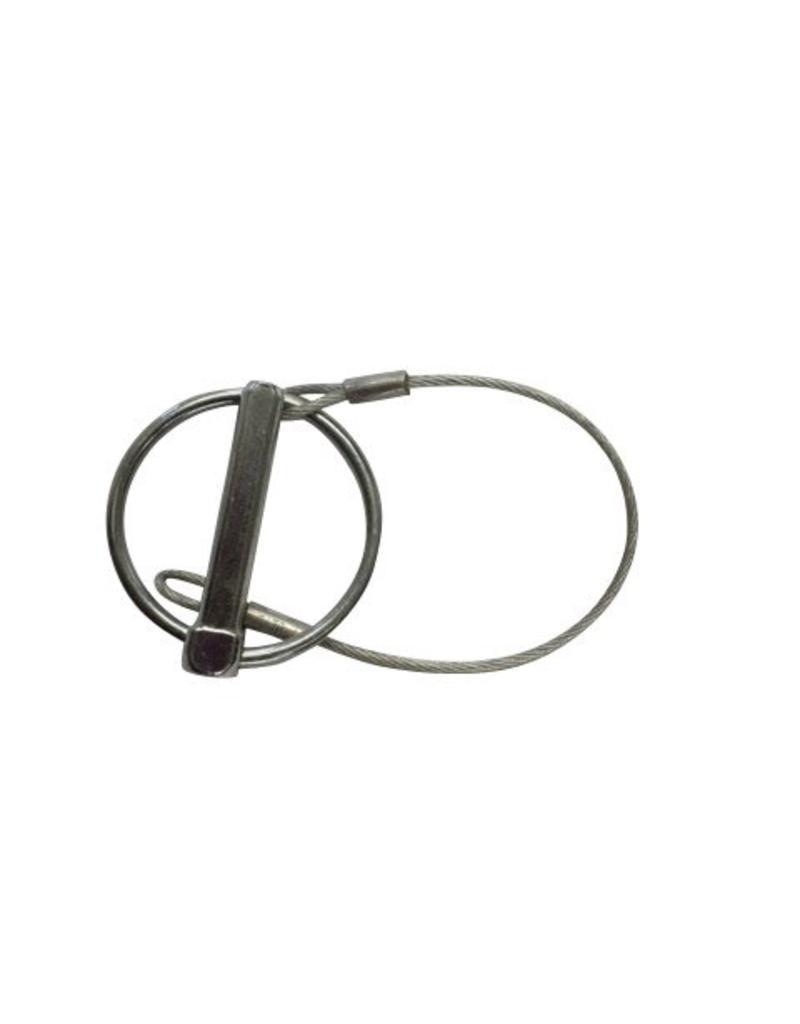 Brian James 8mm Diameter Linch Pin Coated Retainer Wire | Fieldfare Trailer Centre