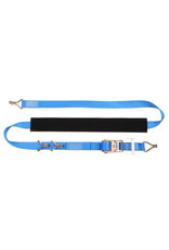 4m Ratchet strap with claw hooks AND Over Wheel wear sleeve | Fieldfare Trailer Centre