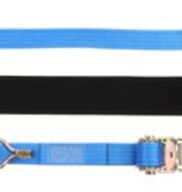 Forankra Prichard 4m x 35mm Ratchet strap with claw hooks & Over Wheel wear sleeve