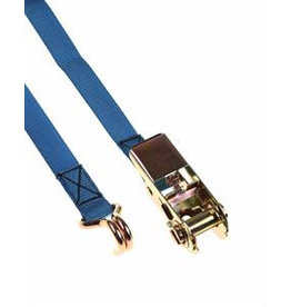 6m x 25mm 800kg Ratchet Strap with Claw Hooks