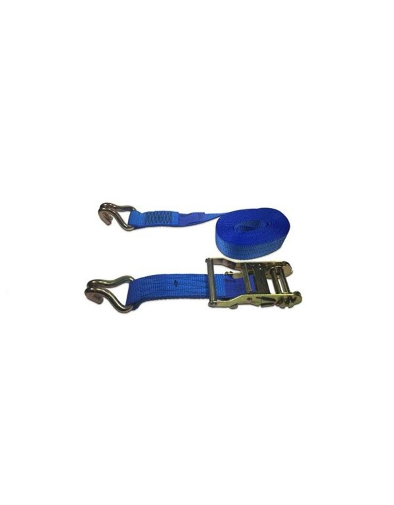6m x 35mm 3 Ton Ratchet Strap with Claw Hooks   Fieldfare Trailer Centre