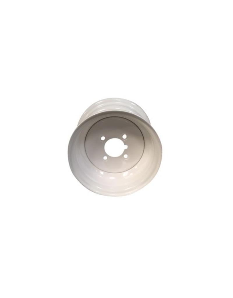 Starco 10 inch Rim Steel 6.00J x 4 inch  PCD x 4 Holes in White | Fieldfare Trailer Centre