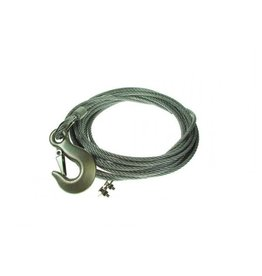 Maypole 8m Long Winch Cable with Hook