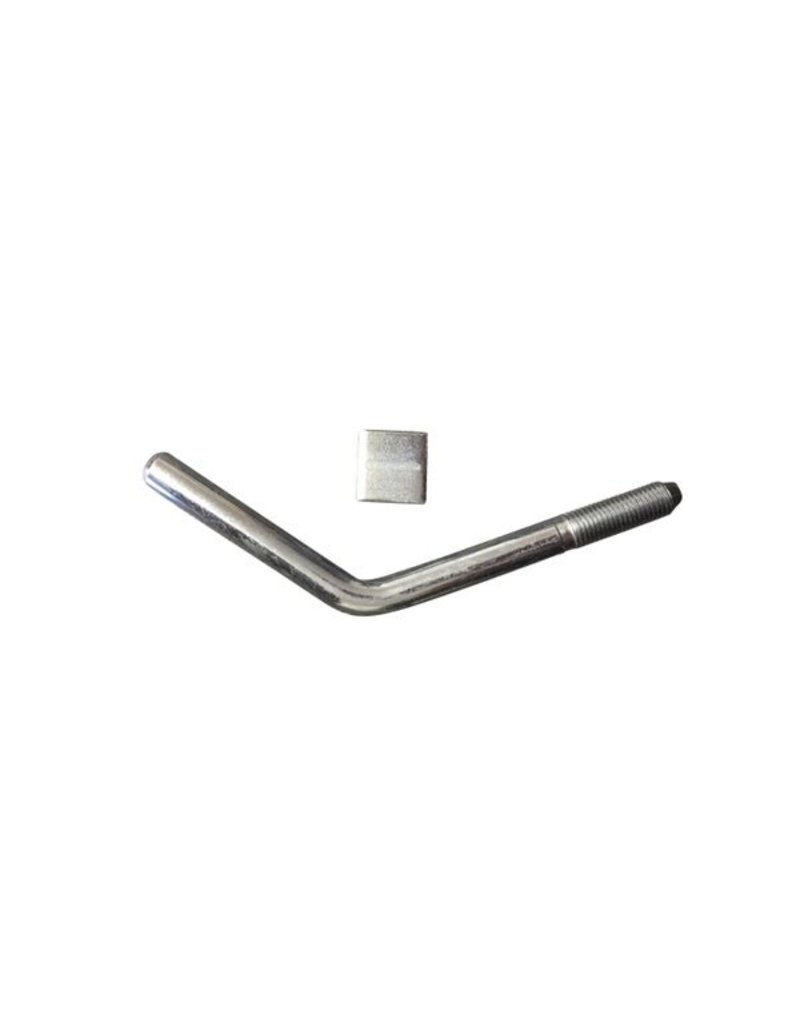 Handle AND Pad 5/8 inch  to suit Bradley HU3 KIT3354 | Fieldfare Trailer Centre