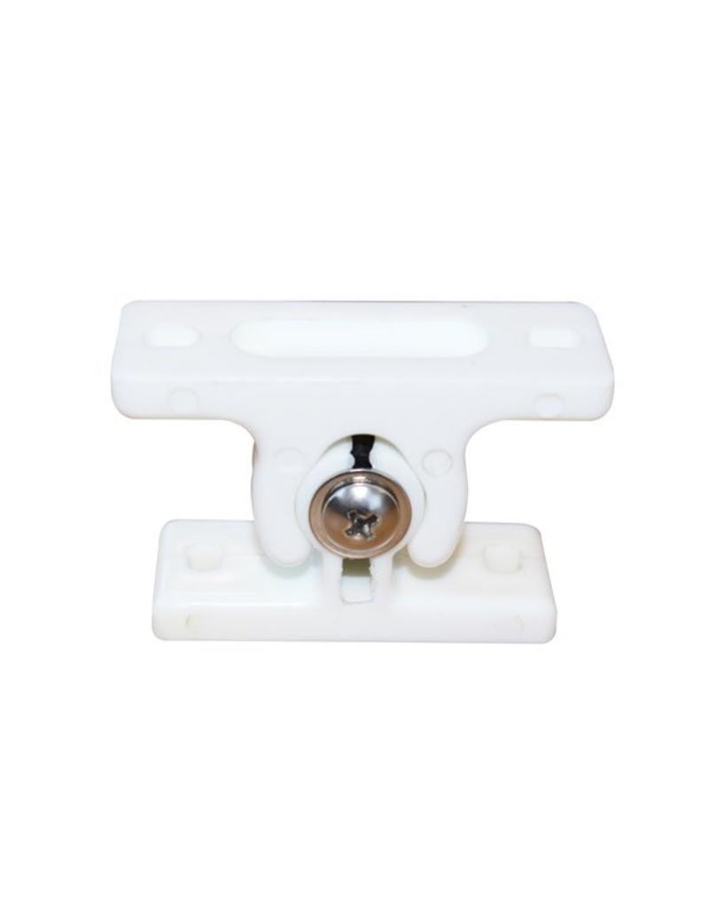 Male AND Female White Door Retainer | Fieldfare Trailer Centre