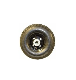 GWAZA Jockey Wheel Pneumatic 2 Ply 3.00-4 Bearing ID - 20mm