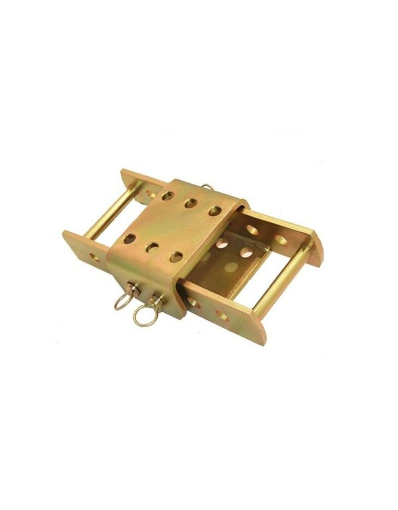 Tow Hitch Height Adjuster 370mm c/w plate | Fieldfare Trailer Centre