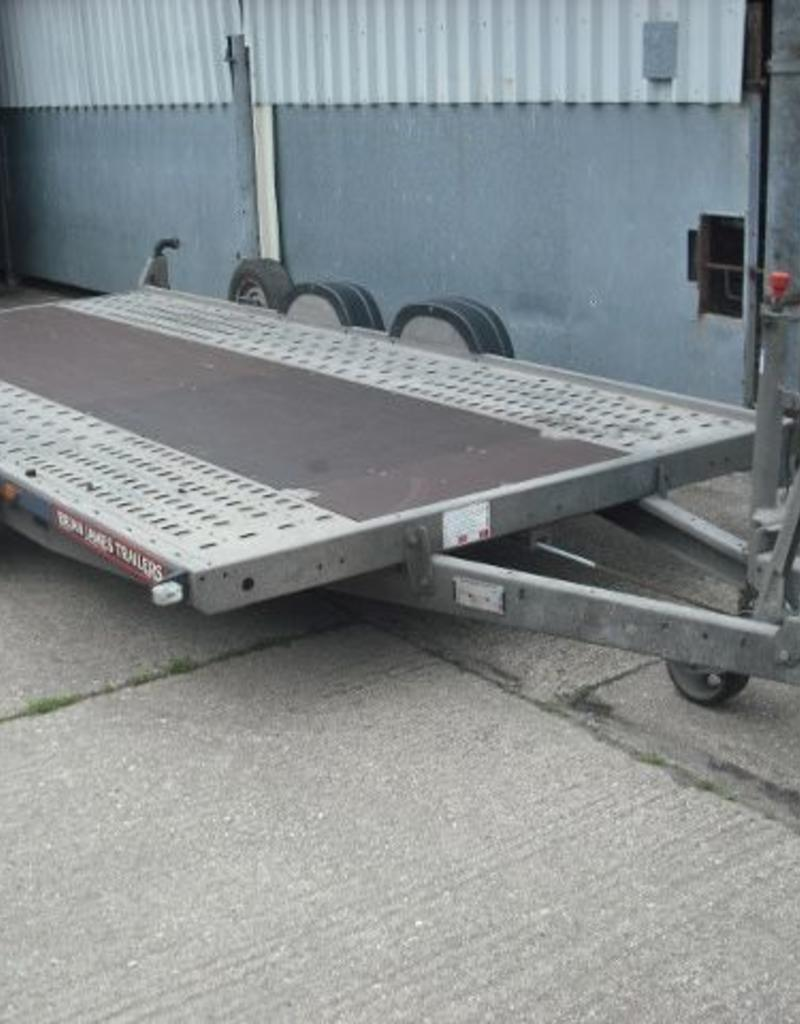 Used Brian James A4 Transporter 4.5m x 2m 2600kg GVW | Fieldfare Trailer Centre
